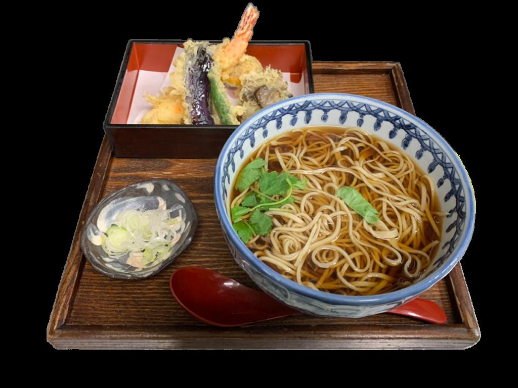 特上天ぷら(そば・うどん)