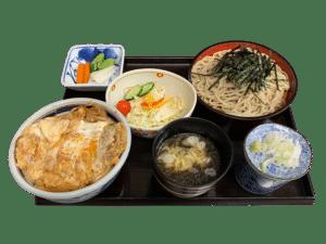 国産ロースカツ丼セット