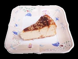 そばチーズケーキ