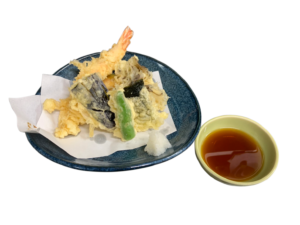 ちょっと天ぷら(海老と野菜)