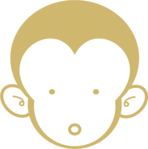 境屋お猿キャラ(顔)